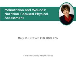 Nutrition Focused Physical Assessment of Wounds